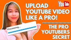 How to upload your YouTube video like a pro?  [The Pro-youtubers secret] Tube Youtube, Youtube Stars, You Youtube, Youtube Thumbnail, Seo Techniques, Like A Pro, Tagalog, Busy At Work, News Channels
