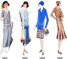clothing from the early 20's | Tuppence Ha'penny: {Vintage for Beginners} 20th Century Fashion Eras