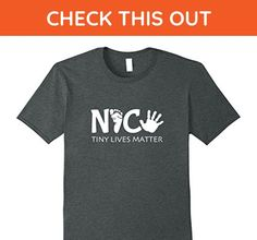 Mens NICU Nurse T Shirts- Taking care of tiny lives- Neonatal XL Dark Heather - Careers professions shirts (*Amazon Partner-Link)