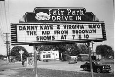 Drive In Movies  - Mom would make popcorn. We always played on the playground before the movie. Debby and I usually slept in the backseat during the second movie. The movie playing should have been a Western.