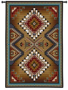 American Indian Tapestry Wall Hangings View more Indian & Mandala Tapestries at www.shilimukh.com