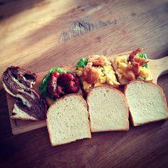 今日も時間無かったので、ささっと。サンドイッチ。 #こぐま弁当 - @koguma78- #webstagram