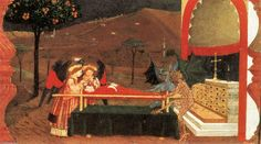 'Miracle de l hostie Desecrated (Scène 6)', panneau de Paolo Uccello (1397-1475, Italy)