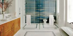 The Granite Gurus: Slab Sunday: Azul Macauba quartzite Home Decor Accessories, Cheap Decor, Modern Bathroom, Cheap Home Decor, Home Remodeling, Interior, Home Decor, House Interior, Bathroom Design