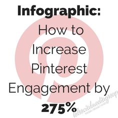 I can boost my Pinterest engagement by 275% you say? Yes please! | Must Read!: How to Increase Pinterest Engagement by 275%  #pinterest #socialmedia
