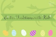 Easter Traditions with kids Traditions To Start, Easter Traditions, Holiday Traditions, Family Traditions, He Is Risen Indeed, Here Comes Peter Cottontail, Holidays And Events, Hippy, Spring Time