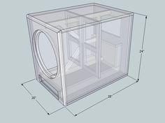 subwoofer box design for 12 inch