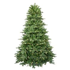 null 7.5 ft. Pre-Lit LED Royal Fraser Fir Artificial Christmas Tree with Warm White Lights... on sale for 125$ from home depot