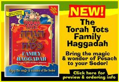 Torah Tots - The Site for Jewish children - Passover - Pesach - The Seder