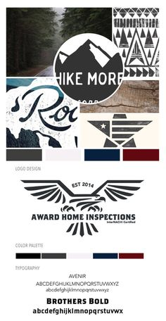 Freelance design job for a Southern California based home inspection company. Project included logo development and brand identity.