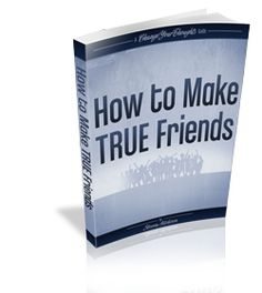 This guide will show you how you can overcome your inhibitions and how to start making friends easily, no matter what your situation is. Making friends is like any other skill, with practice you can become adept at it, you just have to know the rules and...