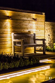 Outdoor Strip Lighting Outdoor Seating  Patio Lighting  Created Using The Lsc43 Http