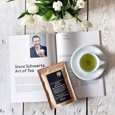 "@coffeetablemags's photo: ""Good morning Tuesday! Sometimes I like to drink tea, as long at is really good, like this Super Sencha from Man Versus Machine. This obviously matches perfectly, when reading the article »Steve Schwartz Art of Tea« in Nourished Journal – Edition Two. #nourishedjournal #coffeetablemags #teaisokay"""