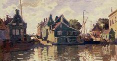 Claude Monet - Zaandam, 1871