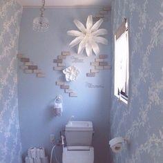 壁にお花を飾るという新発想♡Farncfrancのウォールフラワーが革新的 | by.S Accent Wallpaper, Washroom, Diy And Crafts, Wall Lights, Wall Decor, House, Furniture, Naver, Design