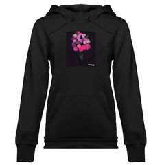 Flowerbomb - Ladies Knit Hooded Pullover