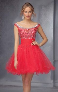 Sparkling Mini Dress by Stocks and Stones by Mori Lee 9292