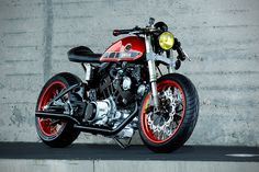 Roland Snel's 1984 Yamaha TR-1 Cafe Racer Will Get You Excited