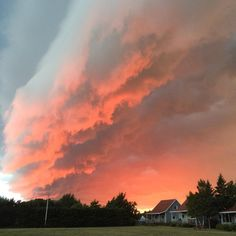 storm canada, sunset storm, sunset storm pictures, storm prince edward island…
