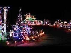 Driving through Lake Placid Florida Christmas 2012 on route 27 a business put up a very nice display of lights. Lake Placid Florida, Night Light, Christmas Tree, Lights, Tv, Holiday Decor, Teal Christmas Tree, Xmas Trees, Xmas Tree