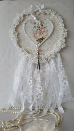Check out this item in my Etsy shop https://www.etsy.com/uk/listing/253951984/pink-rose-dreamcatcher-shabby-chic