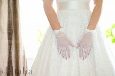 """A testimony from a recent bride! """"I just wanted to say a big thank you to d'Italia, for helping me plan my dream dress and for keeping it within my budget. You made me feel so comfortable and put me at ease :) I am so happy that I found you!"""" D.K  Visit: www.ditalia.com.au  #girl #fashion #wedding #luxury #gloves #fabric #beautiul #ditalia #bespoke #couture #happy"""