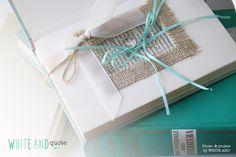 Ring box in a book! A very origanl idea for a book's theme wedding by WHITE AND. #book #libro #ring #box #portafedi #anelli #wedding #matrimonio #verdementa #mint #tiffany #literature