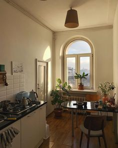 Home Interior Salas Dream Home Design, House Design, Küchen Design, Interior Design, Interior Plants, Dream Apartment, Apartment Kitchen, Aesthetic Bedroom, Aesthetic Style