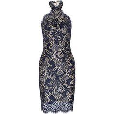 Lover Mia halterneck lace dress