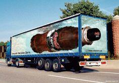 CocaCola Zero TruckAd