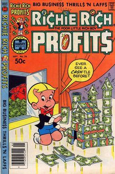 Richie Rich vintage comic book