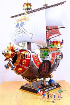 Thousand Sunny Otaku, Geeks, Figurine One Piece, One Piece Seasons, Action Figure One Piece, Watch One Piece, Nerd Room, Zoro One Piece, The Pirate King