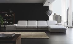 Aqua Modern Sofa by Gamamobel, Spain