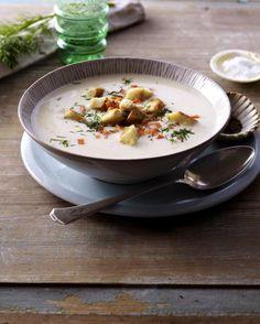 Unser beliebtes Rezept für Cremige Fischsuppe mit Räucherlachs und mehr als 55.000 weitere kostenlose Rezepte auf LECKER.de.