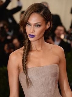 How to Wear Bold Lipstick  - Joan Smalls-Wmag