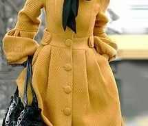 I own a very similar coat, in mustard color, too.