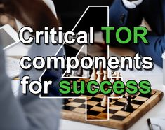 4 crucial Terms Of Reference components for successful data governance council meetings