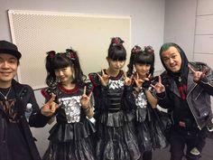 "Takahiro Masuda on Instagram: "" We met Babymetal! They are pretty! Fox! Haha @babymetal_official #TOKYO #Babymetal"""