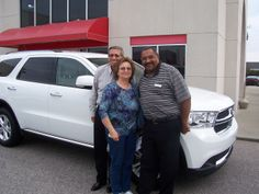 William and Linda knew what they wanted when they made the drive over from Winterville NC to Lee CDJR to grab this wonderful 2013 Dodge Durango. Thank you William and Linda for your business. Their salesman is Tony Oxendine.