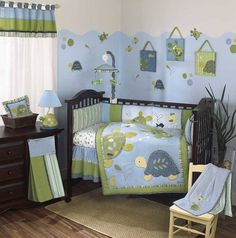 Gorgeous Turtle's under the sea themed room for boy's or girl's.