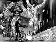 Arte Dark Souls, Manga Anime, Anime Art, Deadman Wonderland, Medieval World, Scary Monsters, Manga Artist, Manga Pictures, Ink Art