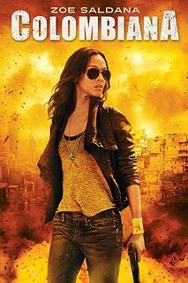 Zoe Saldana (Columbiana)..... My next movie role ...(in my head)