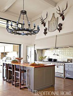 Fabulous Kitchen Design  in California: Contento Napa Valley by Hillary Thomas