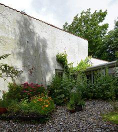 Jørn Utzon & ib møgelvang architects: villa bille, ejler bille house and studio 1954-55
