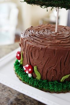 woodland cake party - Google Search