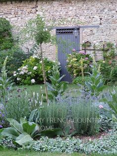 Potager Garden french garden design and old fashioned love - MY FRENCH COUNTRY HOME - when garden design is more a case of trial and error plus a dose of good old fashioned love Herb Garden Design, Cottage Garden Design, French Cottage Garden, Garden Landscape Design, Cottage Style, My French Country Home, French Country Decorating, French Country Gardens, Country Living