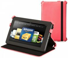 It transforms to stand the kindle fire in 2 angles which is ideal for viewing and display. Also it is convenient, high-grade elastic strap holds the lid open or closed.