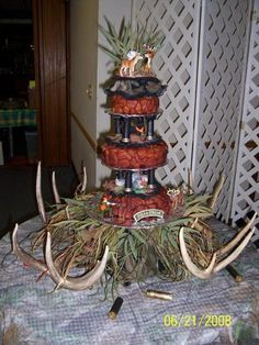 BrideTide Blog - Wedding Resource: Shotgun Shells on a Groom's Cake? This is perfect for my hunter son who's also sharpshooter!!!