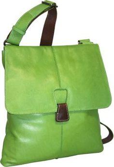 Nino Bossi Half Flap Messenger Bag  Apple Green - via eBags.com!