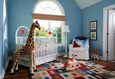 quarto de menino tema safari